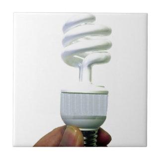 Compact Fluorescent bulb Ceramic Tile