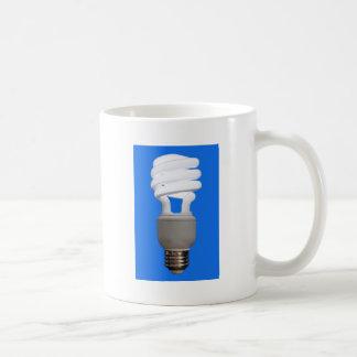 Compact Fluorescent Bulb Mugs