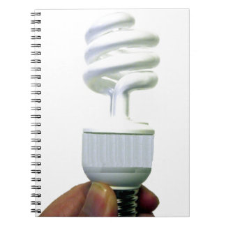 Compact Fluorescent bulb Notebook
