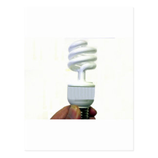 Compact Fluorescent bulb Postcard