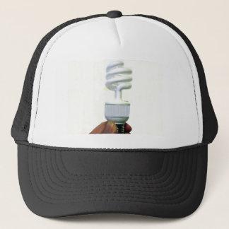 Compact Fluorescent bulb Trucker Hat
