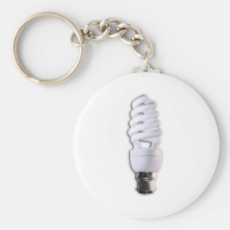Compact Fluorescent Light Bulb Key Chains