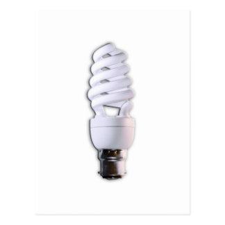 Compact Fluorescent Light Bulb Postcard