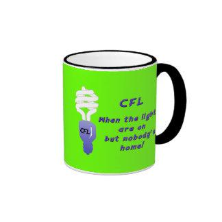 Compact Fluorescent Light Bulbs (CFL's)  Mug