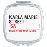 Karla marie STREET   Compact Mirror