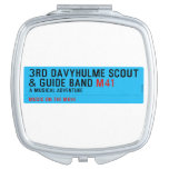 3rd Davyhulme Scout & Guide Band  Compact Mirror