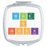 Wine o clock  Compact Mirror