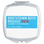 boothtown boys  brigade  Compact Mirror