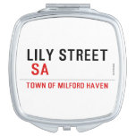 Lily STREET   Compact Mirror