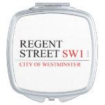 REGENT STREET  Compact Mirror