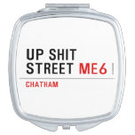 Up Shit Street  Compact Mirror