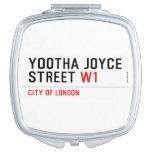 YOOTHA JOYCE Street  Compact Mirror