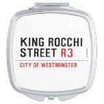 king Rocchi Street  Compact Mirror