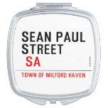 Sean paul STREET   Compact Mirror