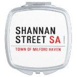 Shannan Street  Compact Mirror