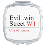 Evil twin Street  Compact Mirror