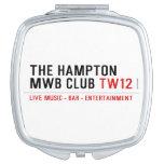 the Hampton  MWB Club  Compact Mirror