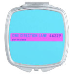 One Direction Lane   Compact Mirror