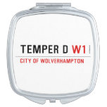 TEMPER D  Compact Mirror