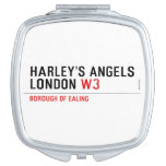 HARLEY'S ANGELS LONDON  Compact Mirror