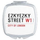 ezkyezky Street  Compact Mirror