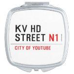 KV HD Street  Compact Mirror