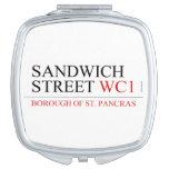 SANDWICH STREET  Compact Mirror