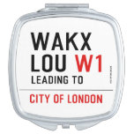 WAKX LOU  Compact Mirror