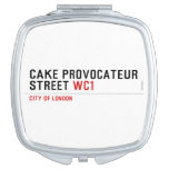 CAKE PROVOCATEUR  STREET  Compact Mirror