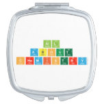 All About  Chemistry  Compact Mirror
