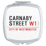 carnaby street  Compact Mirror