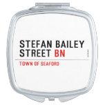 Stefan Bailey Street  Compact Mirror