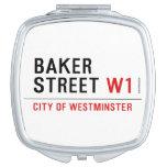 baker street  Compact Mirror