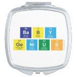 baby genius  Compact Mirror