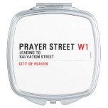 Prayer street  Compact Mirror