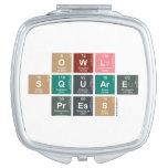 Owl Square Press  Compact Mirror