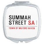 Summah Street  Compact Mirror