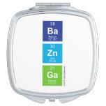 Ba Zn Ga  Compact Mirror
