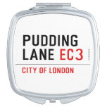 PUDDING LANE  Compact Mirror
