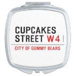 cupcakes Street  Compact Mirror