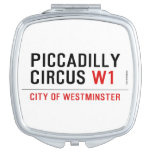 piccadilly circus  Compact Mirror