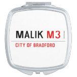 Malik  Compact Mirror