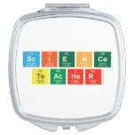 Science Teacher  Compact Mirror