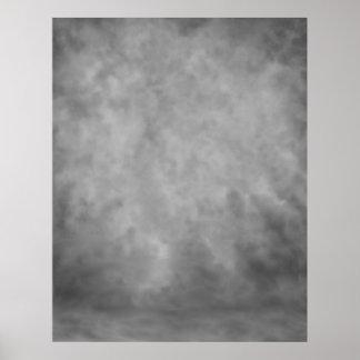 COMPACT PHOTO BACKDROP - Gray Fog Poster