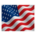 COMPACT PHOTO BACKDROP - US Flag Stars and Stripes Posters