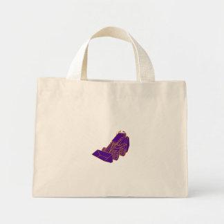 Compact Skid Steer Mono LIne Mini Tote Bag