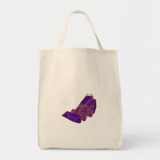 Compact Skid Steer Mono LIne Tote Bag