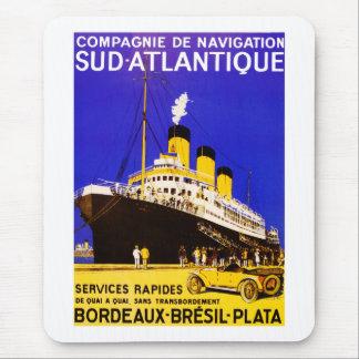 Compagnie De Navigation Sud Atlantique Mouse Pad