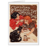 Compagnie - distressed greeting card