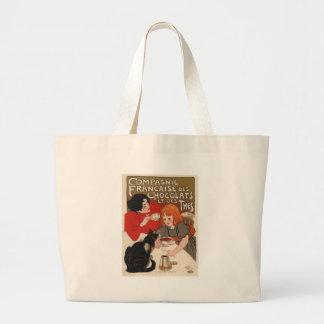 Compagnie Francaise Des Chocolats Canvas Bags